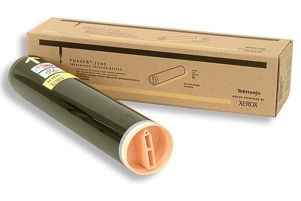 Original Toner 10k für Xerox Phaser 7700, yellow