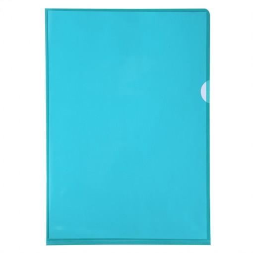Packung mit 100 Aktensichthüllen aus glattem und festem PVC 130µ, für Format DIN A4