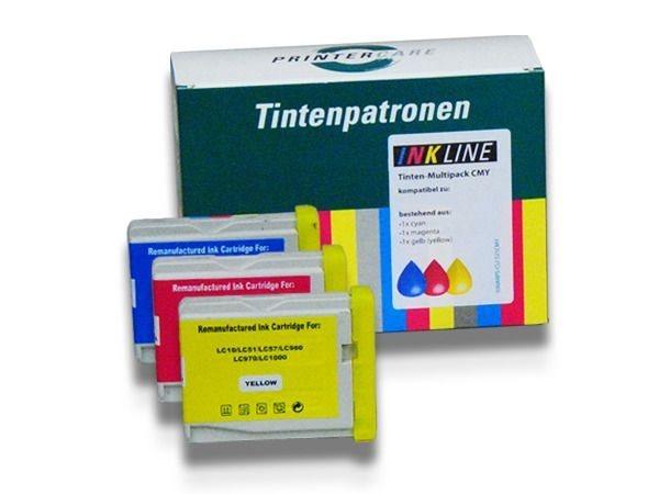 PC Tinte Rainbowpack CMY - PC-LC1000CMY