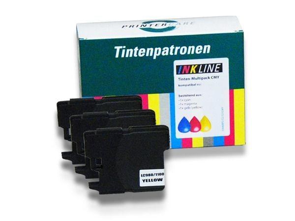 PC Tinte Rainbowpack CMY - PC-LC980-1100CMY