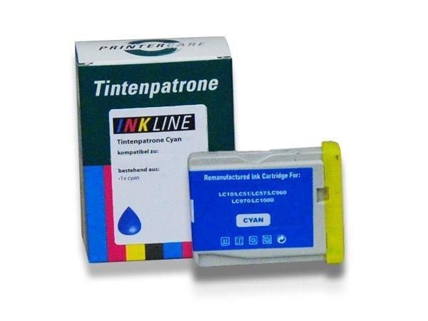 PC Tintenpatrone cyan - PC-LC1000C