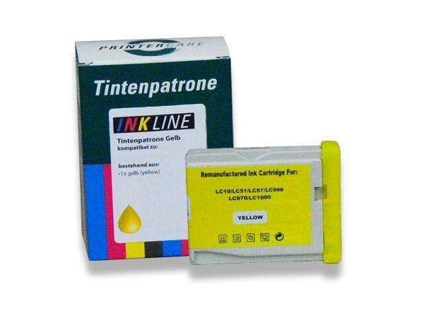 PC Tintenpatrone gelb - PC-LC1000Y