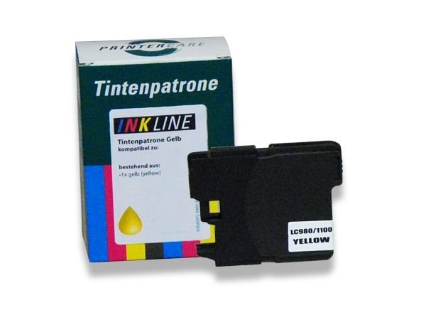 PC Tintenpatrone gelb - PC-LC980-1100Y