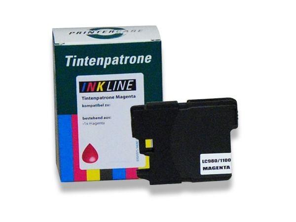 PC Tintenpatrone magenta - PC-LC980-1100M