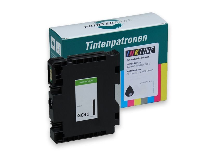 PCare Tinte (refill) schwarz HC - PC-GC41-BK-HC