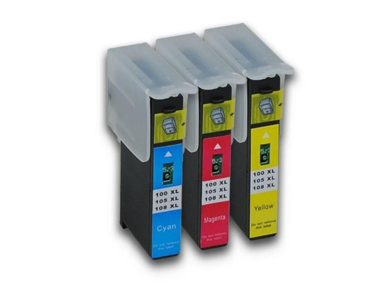 Pcare Tinte Valuepack CMY - PC-LXNR100XLCMY