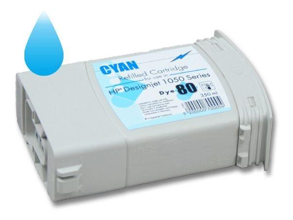 PCare Tintenkartusche (refill) cyan - Nr. 80