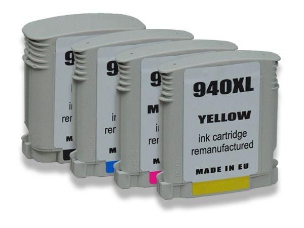 PCare Tintenpaket schwarz+farbig - Nr. 940BKCMY-XL