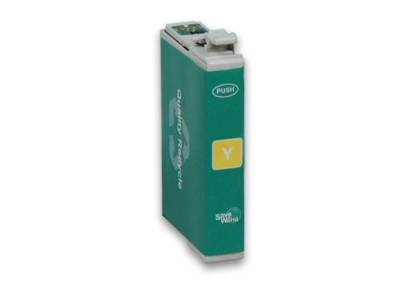 Pcare Tintenpatrone gelb - PC-T0714