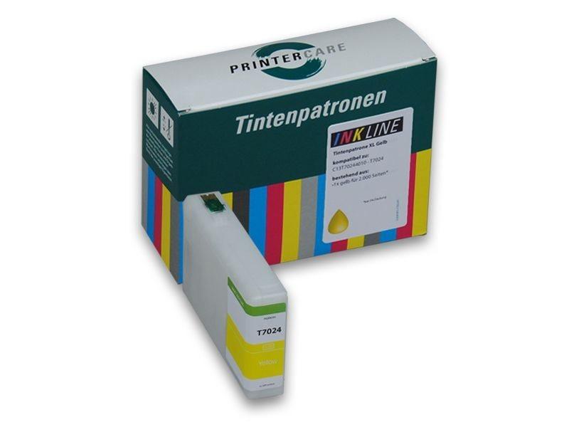 PCare Tintenpatrone gelb XL