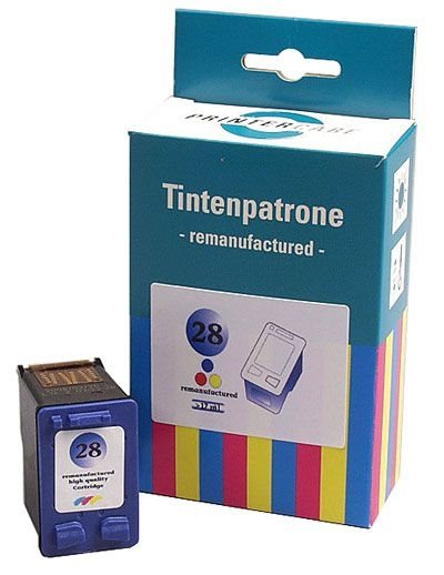 PCare Tintenpatrone (rebuilt) für HP DeskJet 3325