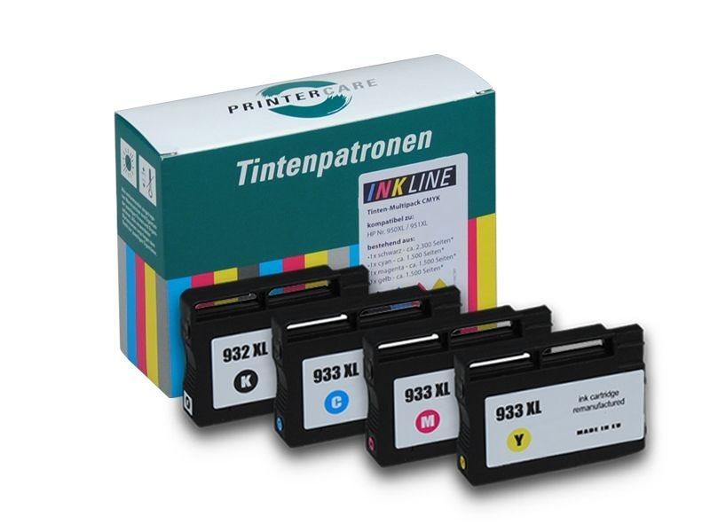 PCare Tintenset - PC-932/933XLBKCMY