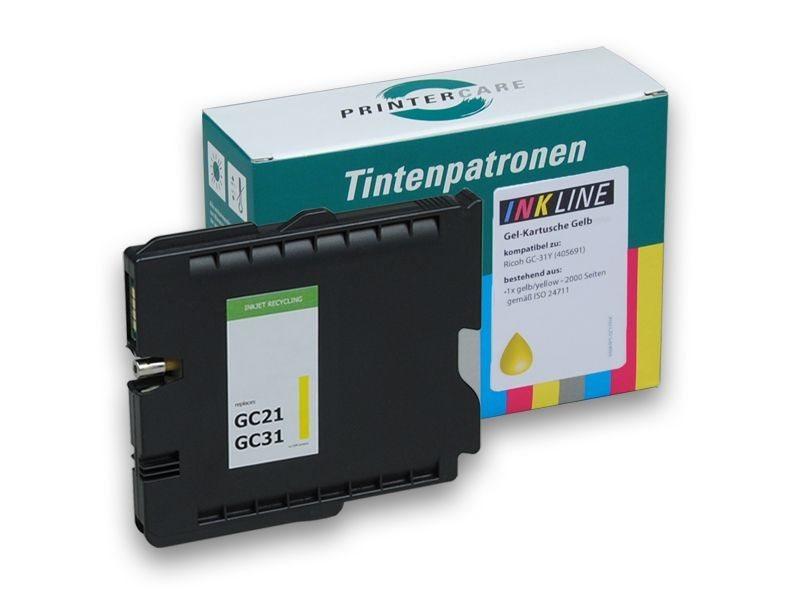 PCare XL Tinte (refill) gelb - PC-GC31-Y-HC