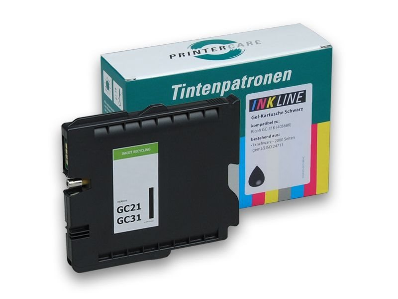 PCare XL Tinte (refill) schwarz - PC-GC31-BK-HC