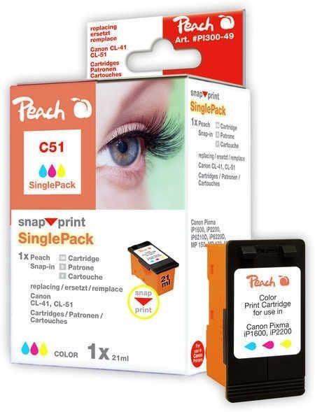 Peach color ohne Druckkopf 1 Stück - PI100-49