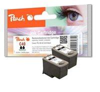 Peach Doppelpack Druckköpfe schwarz - PI100-204