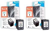 Peach Doppelpack Druckköpfe schwarz - PI300-467
