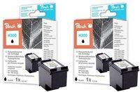 Peach Doppelpack Druckköpfe schwarz - PI300-501