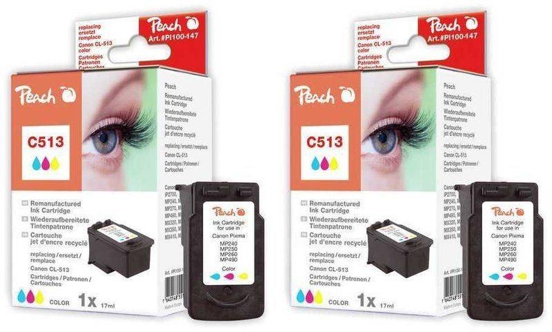 Peach Doppelpack Druckköpfe color - PI100-214