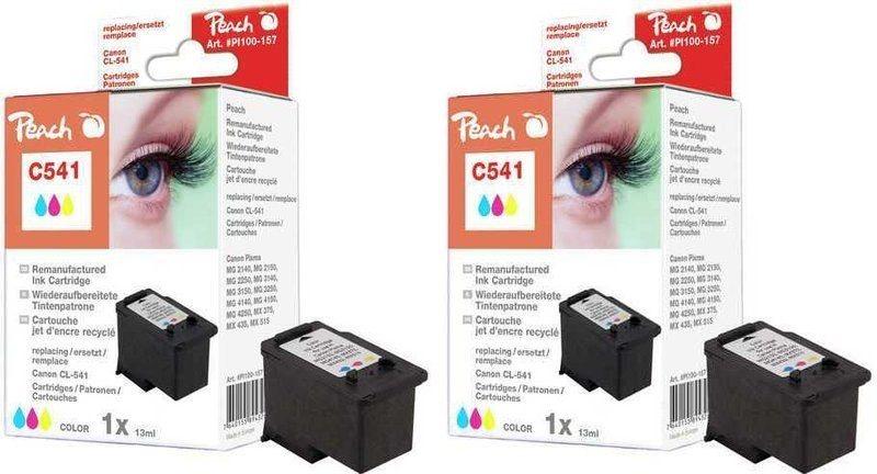 Peach Doppelpack Druckköpfe color - PI100-216