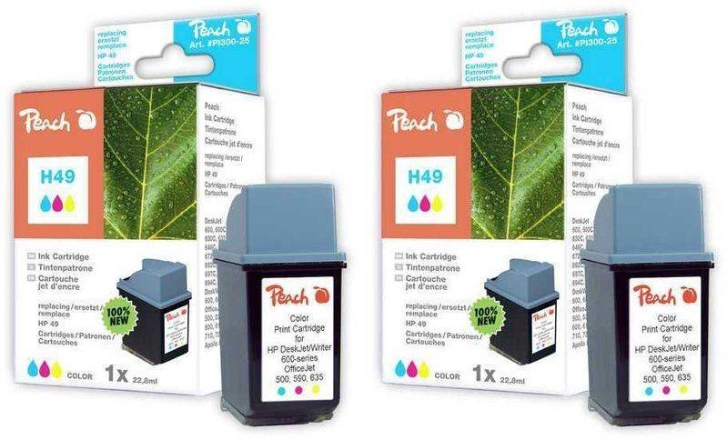 Peach Doppelpack Druckköpfe color - PI300-448