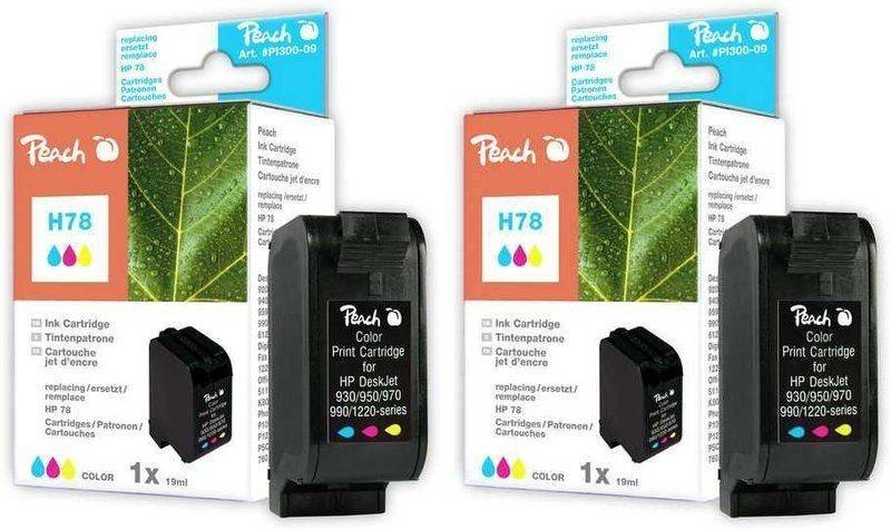 Peach Doppelpack Druckköpfe color - PI300-450