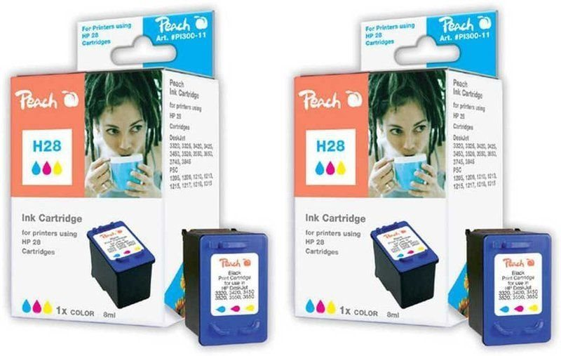Peach Doppelpack Druckköpfe color - PI300-452