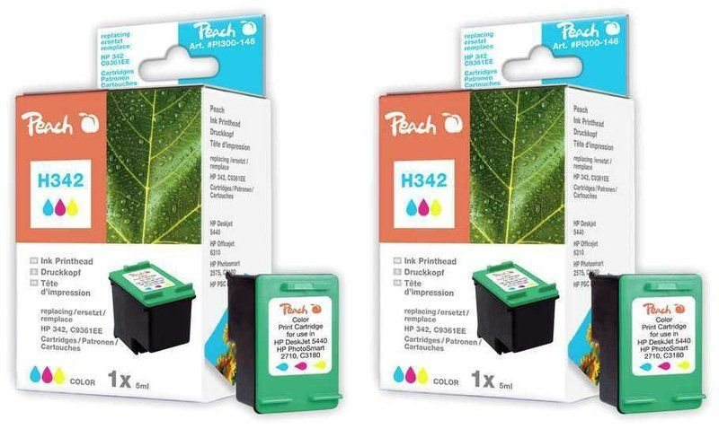 Peach Doppelpack Druckköpfe color - PI300-469