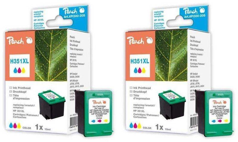 Peach Doppelpack Druckköpfe color - PI300-479