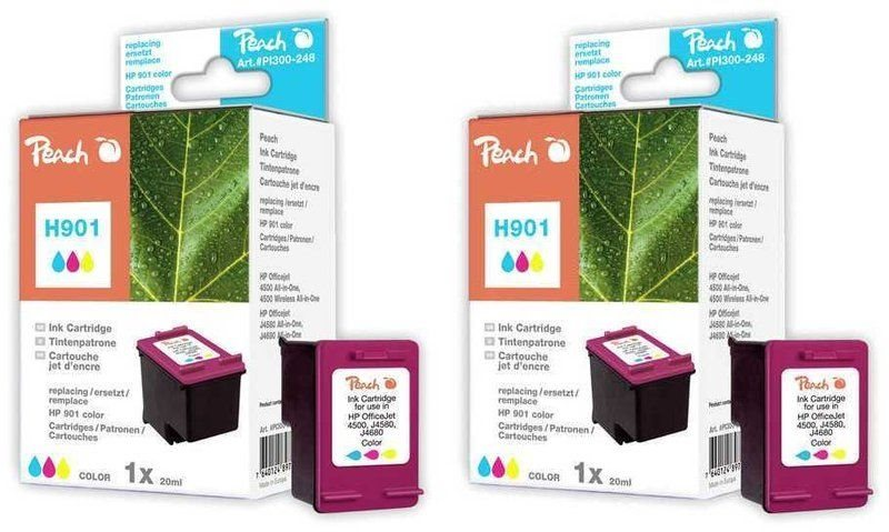 Peach Doppelpack Druckköpfe color - PI300-481