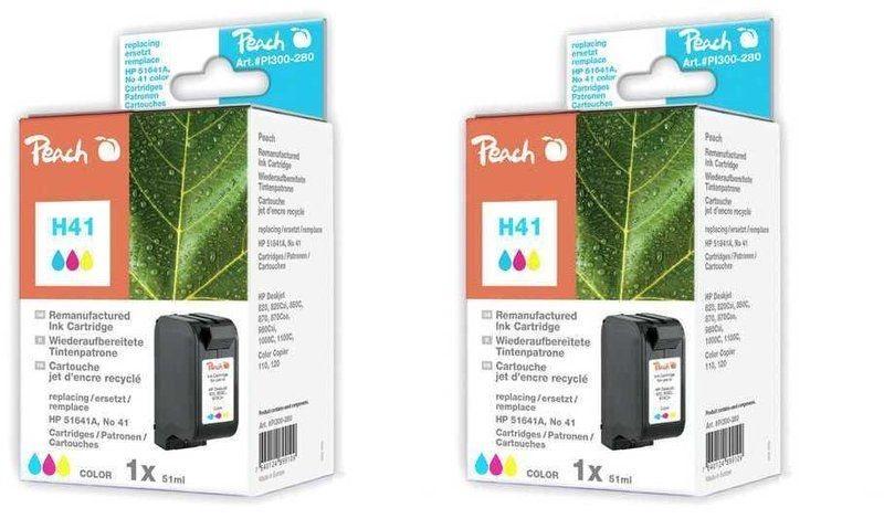 Peach Doppelpack Druckköpfe color - PI300-483