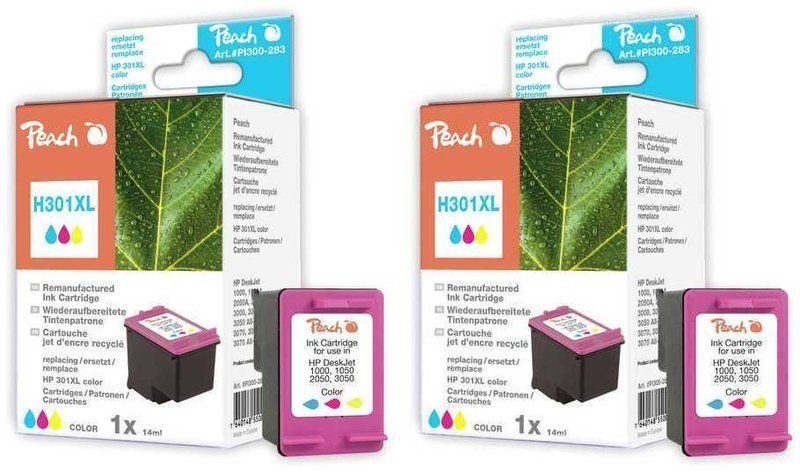Peach Doppelpack Druckköpfe color - PI300-486