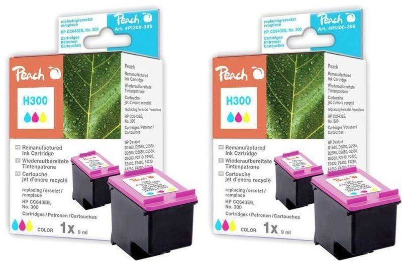 Peach Doppelpack Druckköpfe color - PI300-502