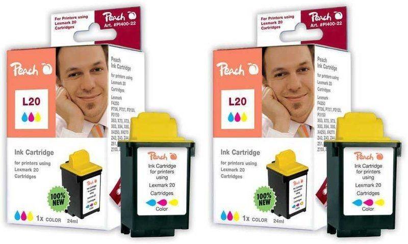 Peach Doppelpack Druckköpfe color - PI400-52