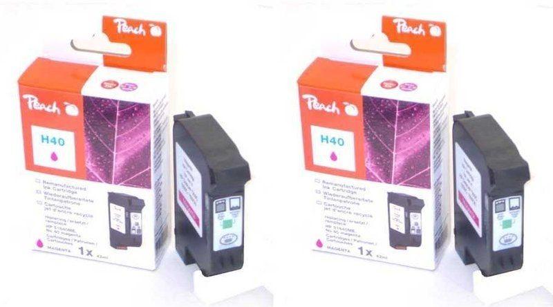 Peach Doppelpack Druckköpfe magenta - PI300-490