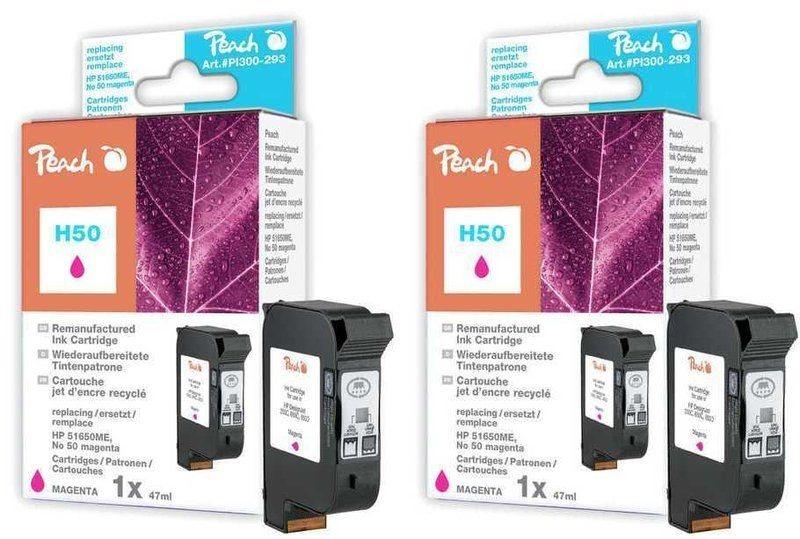 Peach Doppelpack Druckköpfe magenta - PI300-496