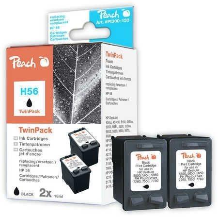 Peach Doppelpack Druckköpfe schwarz - PI300-133