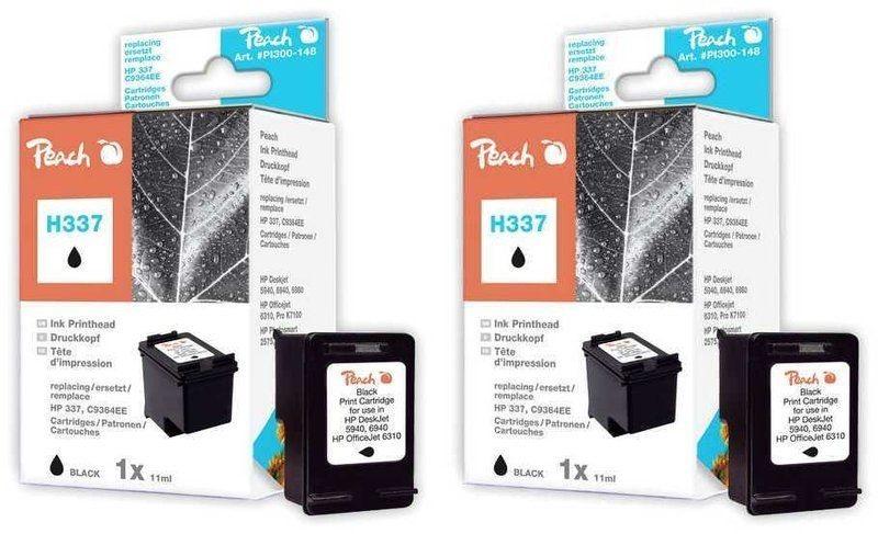 Peach Doppelpack Druckköpfe schwarz - PI300-471