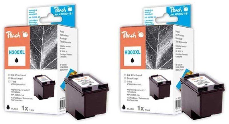 Peach Doppelpack Druckköpfe schwarz - PI300-476