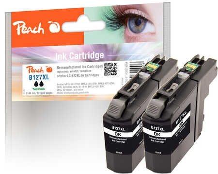 Peach Doppelpack Tinte schwarz - PI500-115