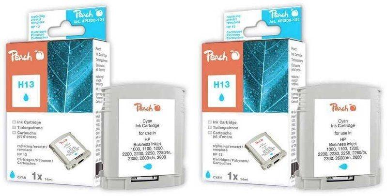 Peach Doppelpack Tinten cyan - PI300-464