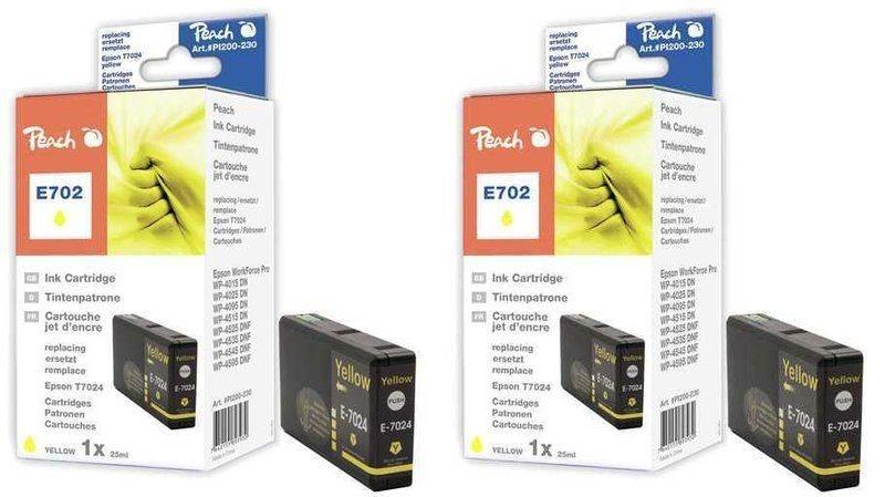 Peach Doppelpack Tinten gelb - PI200-344