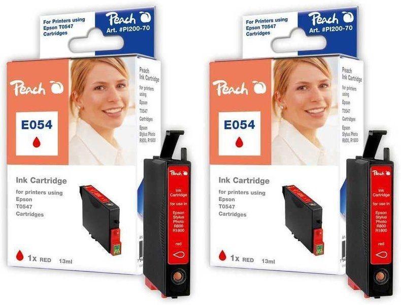 Peach Doppelpack Tinten rot - PI200-332