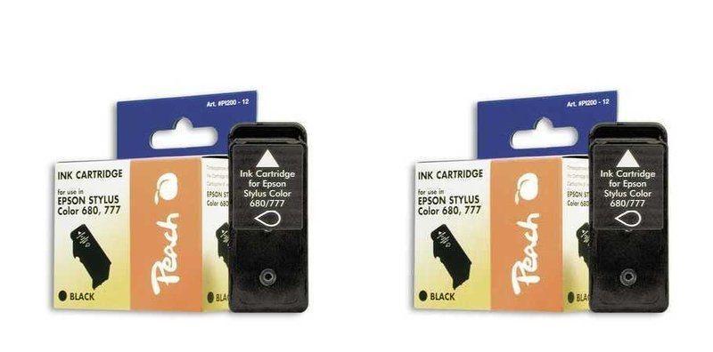 Peach Doppelpack Tinten schwarz - PI200-300