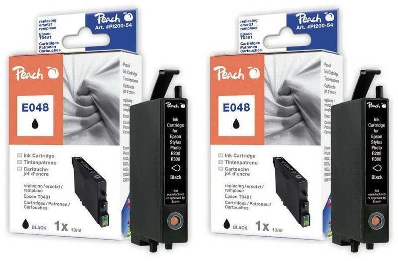 Peach Doppelpack Tinten schwarz - PI200-327
