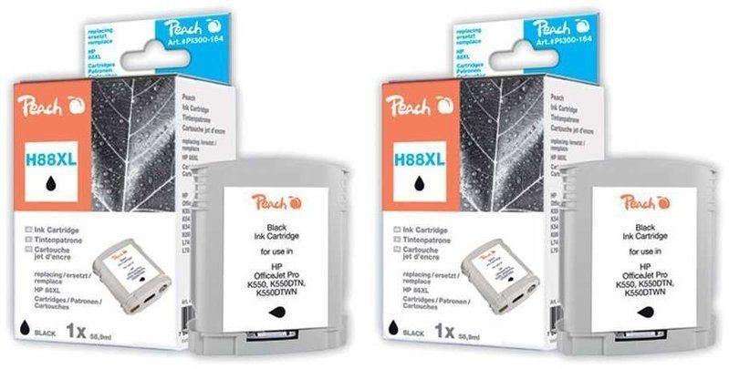 Peach Doppelpack Tinten schwarz - PI300-475