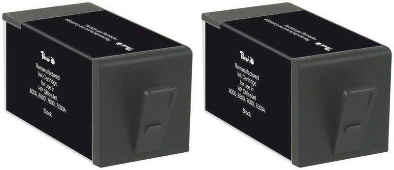 Peach Doppelpack Tinten schwarz - PI300-505