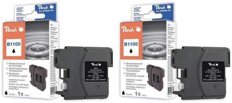 Peach Doppelpack Tinten schwarz - PI500-103