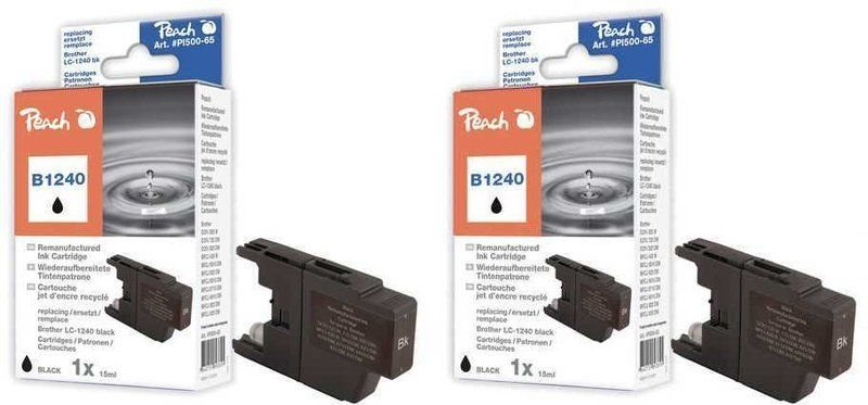 Peach Doppelpack Tinten schwarz - PI500-105