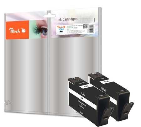Peach Doppelpack Tintenpatrone schwarz - PI300-573
